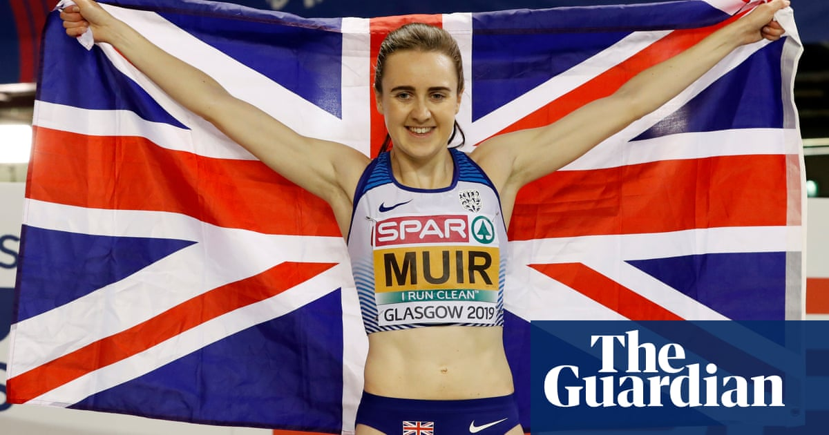 58c802312 Laura Muir wins double-double to give Great Britain record medals tally