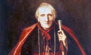 Portrait of John Henry Newman by Emmeline Deane (1858-1944).
