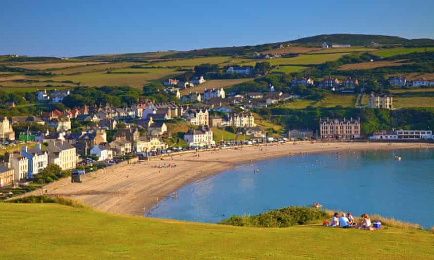 Port Erin on the Isle of Man.