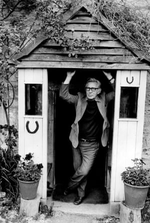 Laurie Lee, July 1977.