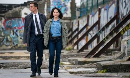 Killian Scott and Sarah Greene in The Dublin Murders