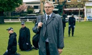 Martin Clunes as DCI Colin Sutton in Manhunt: 'A mesmerising tale.'
