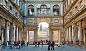 The Uffizi gallery in Florence. The new director wiull have to develop innovative cultural programmes and bring some creative flair to financing as government budgets are cut.