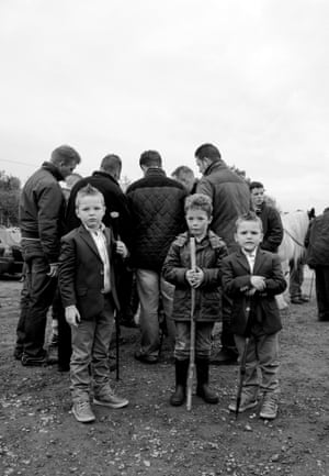 'These images allow us to perceive the joy and pride that Traveller children feel in their own culture, suggested in particular by the way in which they openly admire and mimic their elders.'