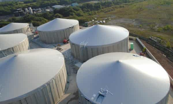 Dong Energy's Northwich waste-to-biogas project
