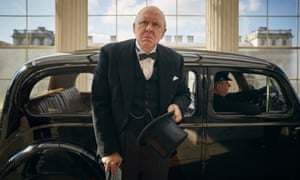 Impossibly moving … John Lithgow plays Winston Churchill.