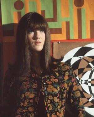 Style influence … Cathy McGowan.