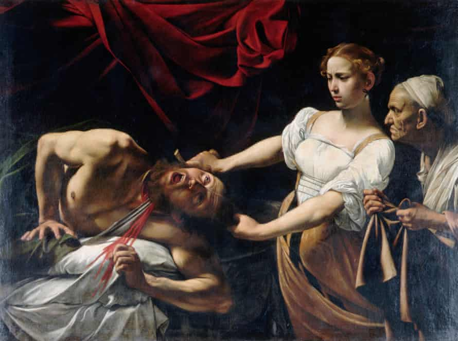 Caravaggio's Judith Beheading Holofernes