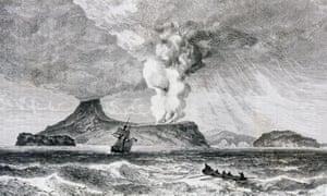 The 1883 volcanic eruption on Krakatoa, Indonesia, that left the globe reverberating for days on end.