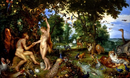 The Garden of Eden with the Fall of Man, 1615, by Jan Brueghel the Elder and Peter Paul Rubens