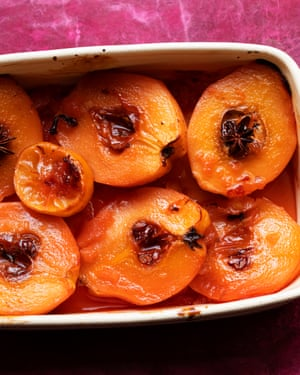 Golden moments: roast quince with honey.