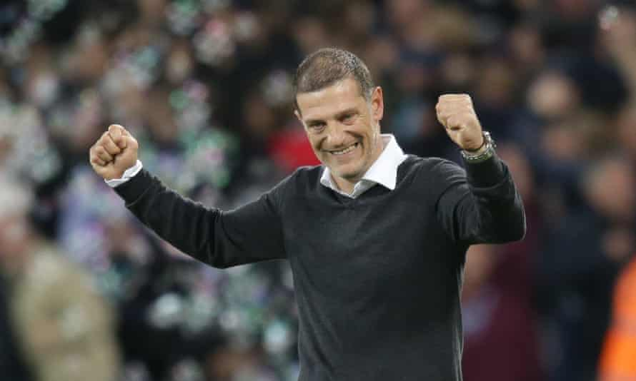 """Slaven Bilic admitted after the match that Frank de Boer's departure from Crystal Palace was """"in the back of my mind"""" before the game against Huddersfield."""