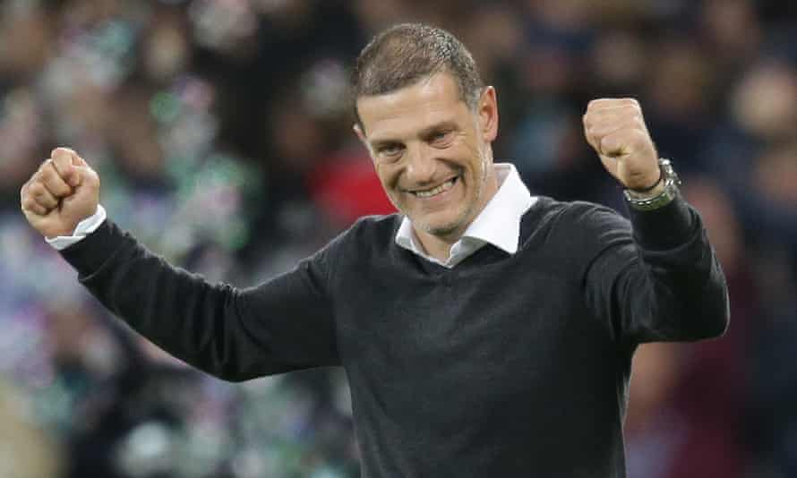 Slaven Bilic, pictured during his time as West Ham manager, said he 'didn't think twice' about joining West Brom.