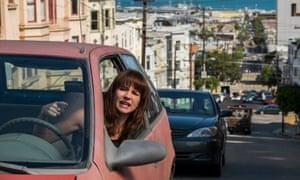 Driving miss crazy: Britt Robertson in, and as, Girlboss.