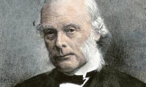 Scientific saviour … Joseph Lister.