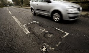 A fund for roads could see £420m spent repairing potholes