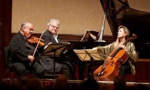 'Breathing as one': Jaime Laredo, Joseph Kalichstein and Sharon Robinson at Wigmore Hall.
