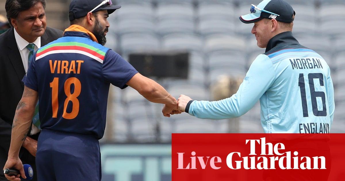 India v England: third and deciding one-day international – live!
