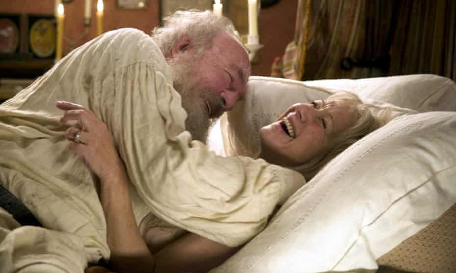Christopher Plummer and Helen Mirren in The Last Station, directed by Michael Hoffman.