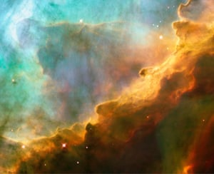 Gaseous nebula in the Milky Way, about 5,500 light years away from Earth.