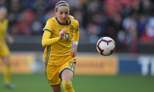 Former Manchester City player Kosovare Asllani is Sweden's key attacker