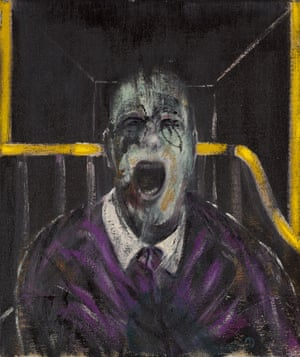Study for a Head by Francis Bacon.