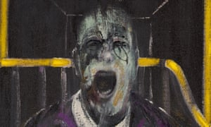 Study for a Head (detail) by Francis Bacon