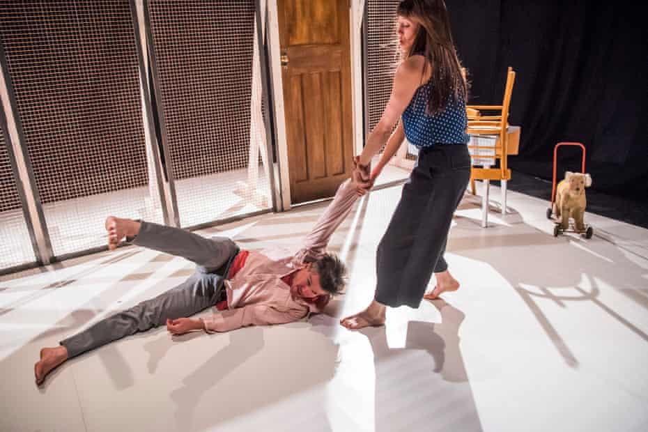 'Bleak poignancy': Ben Duke and Solène Weinachter  in Juliet and Romeo.