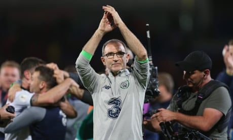 Republic of Ireland's Martin O'Neill: 'We had to come here to win in Cardiff' – video