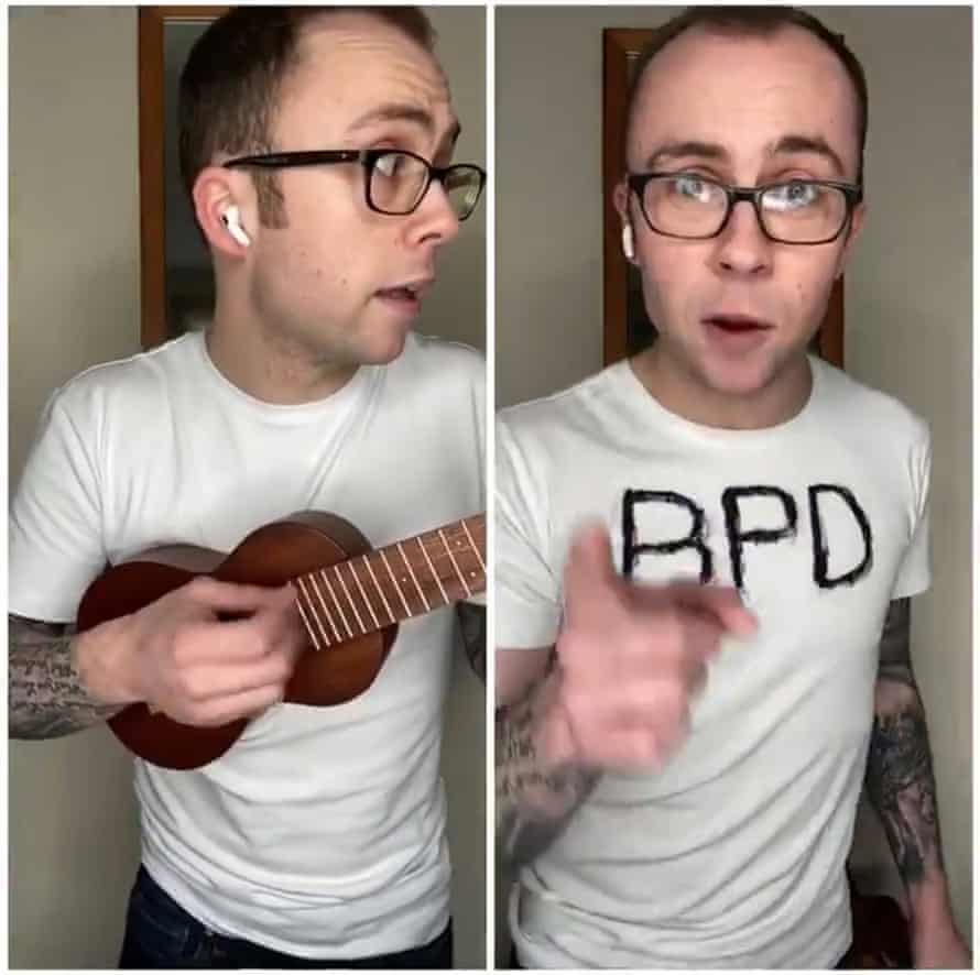 Joe Tracini performs his song about erectile disfunction