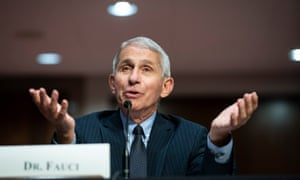 Anthony Fauci, director of the National Institute of Allergy and Infectious Diseases, has been the target of attacks from Donald Trump and his allies.