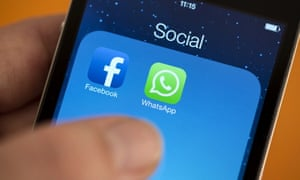 Social networks Facebook and WhatsApp