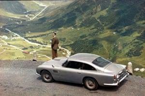 The Aston Martin DB5 - Goldfinger