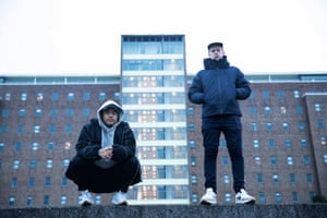 Adit Gauchan (left) and Nick Bryant-Smith of Australian hip-hop duo Horrorshow.