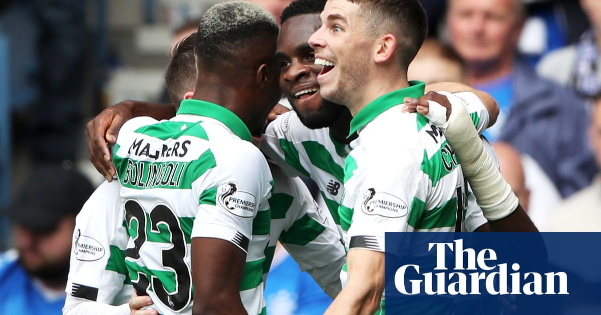 Édouard and Hayes give Celtic victory over Rangers in Old Firm derby
