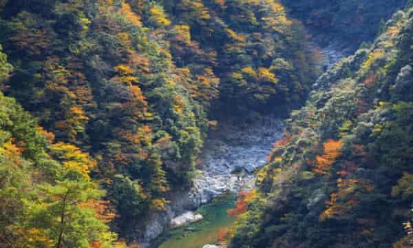 Iya Valley, Japan, in autumn