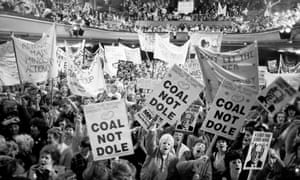 First National Women's Support Groups Rally, in support of striking miners, Barnsley Civic Hall, 12 May 1984