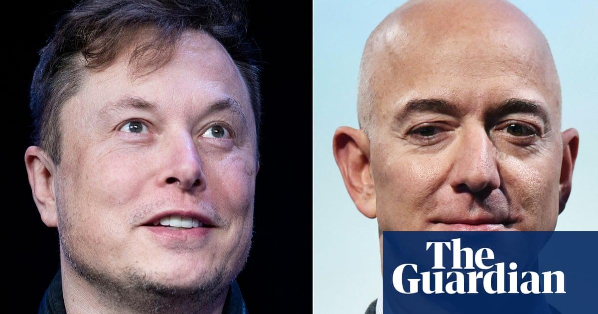 The tech billionaire space race: who is Jeff Bezos up against?