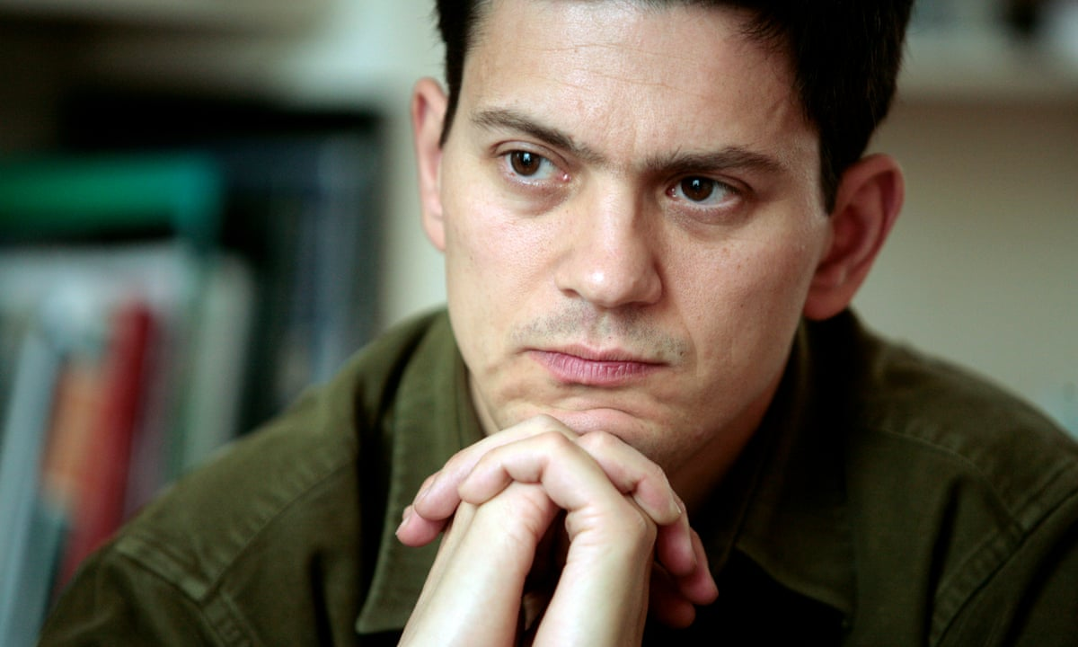 David Miliband: failure to take in refugees an abandonment of UK's humanitarian traditions