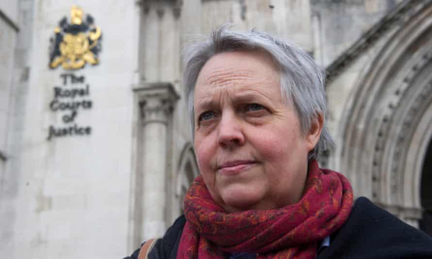 Harriet Wistrich at the high court