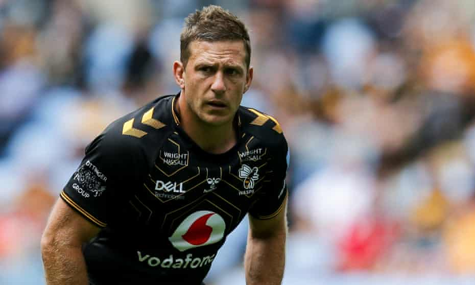 Jimmy Gopperth of Wasps during a pre-season match against the Dragons.