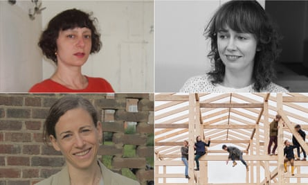 The 2015 Turner prize shortlisted artists: (clockwise from right) Bonnie Camplin, Nicole Wermers, Assemble and Janice Kerbel.