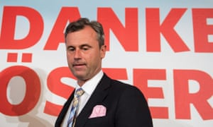 Norbert Hofer, the Freedom party's candidate in the Austrian presidential election.
