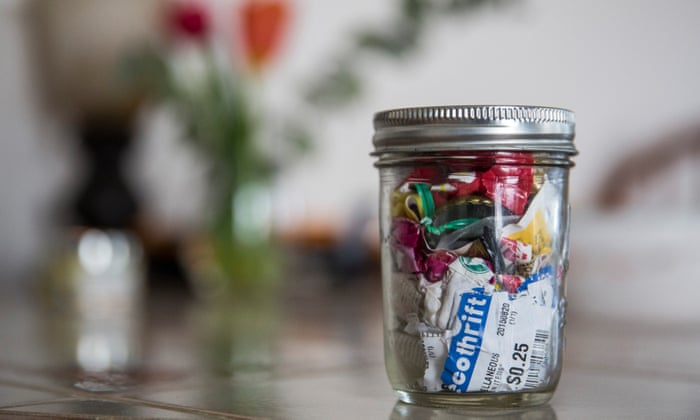 Zero-waste bloggers: the millennials who can fit a year's