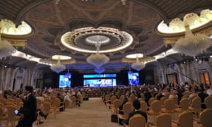 Participants at last year's Future Investment Initiatives conference in Riyadh.