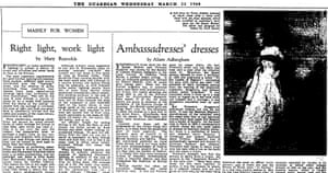 The Guardian, 23 March 1960.