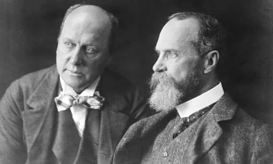 Henry James (left), with his brother, psychologist William James.