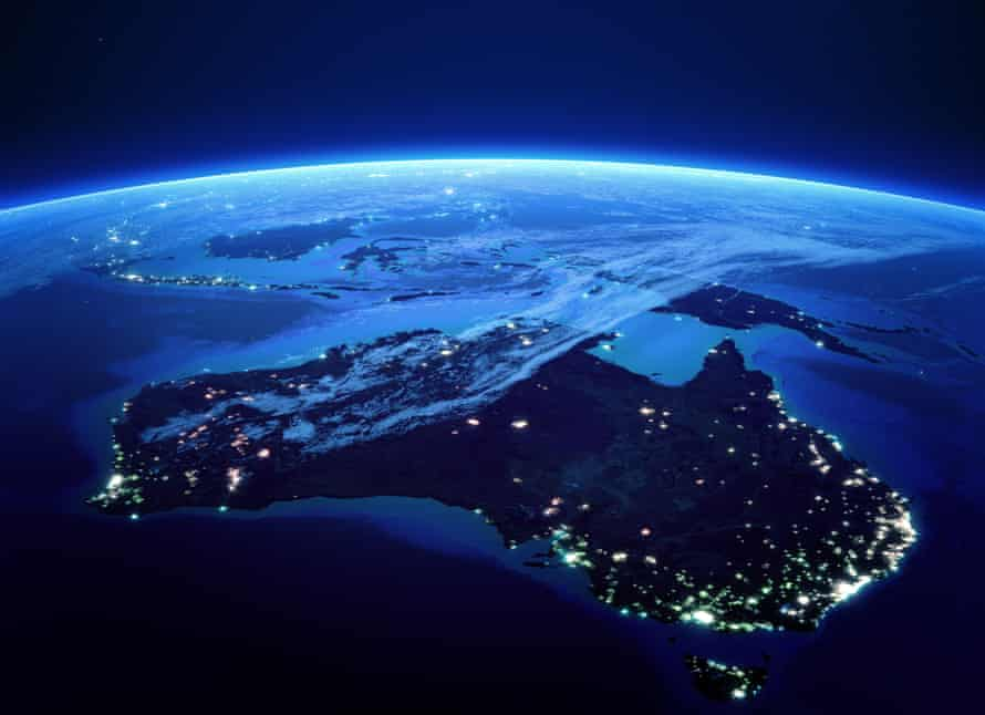Australia's city lights