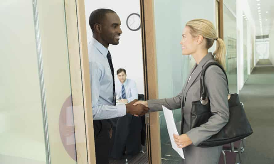 Pre-interview small talk could be the key to success.