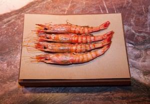 'Delicious': the gambas rojas at Decimo.